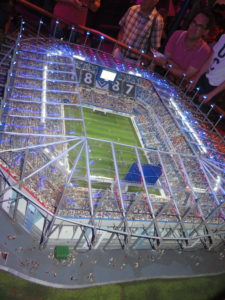 Miniatur Wunderland - Stadion Hamburger Sports Verein