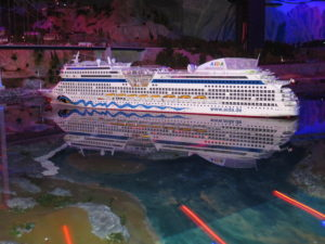 Miniatur Wunderland - Krydstogtsskib