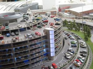 Parkering ved Miniatur lufthavn