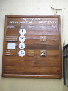 Togkøreplan vedligeholdes manuelt i Nanu Oya