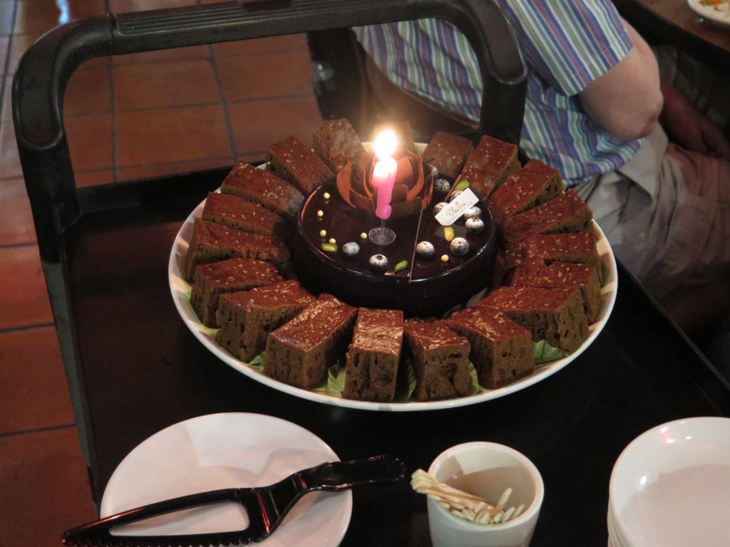 "God dessert i restaurant ""Love Retro"" i Taichung"