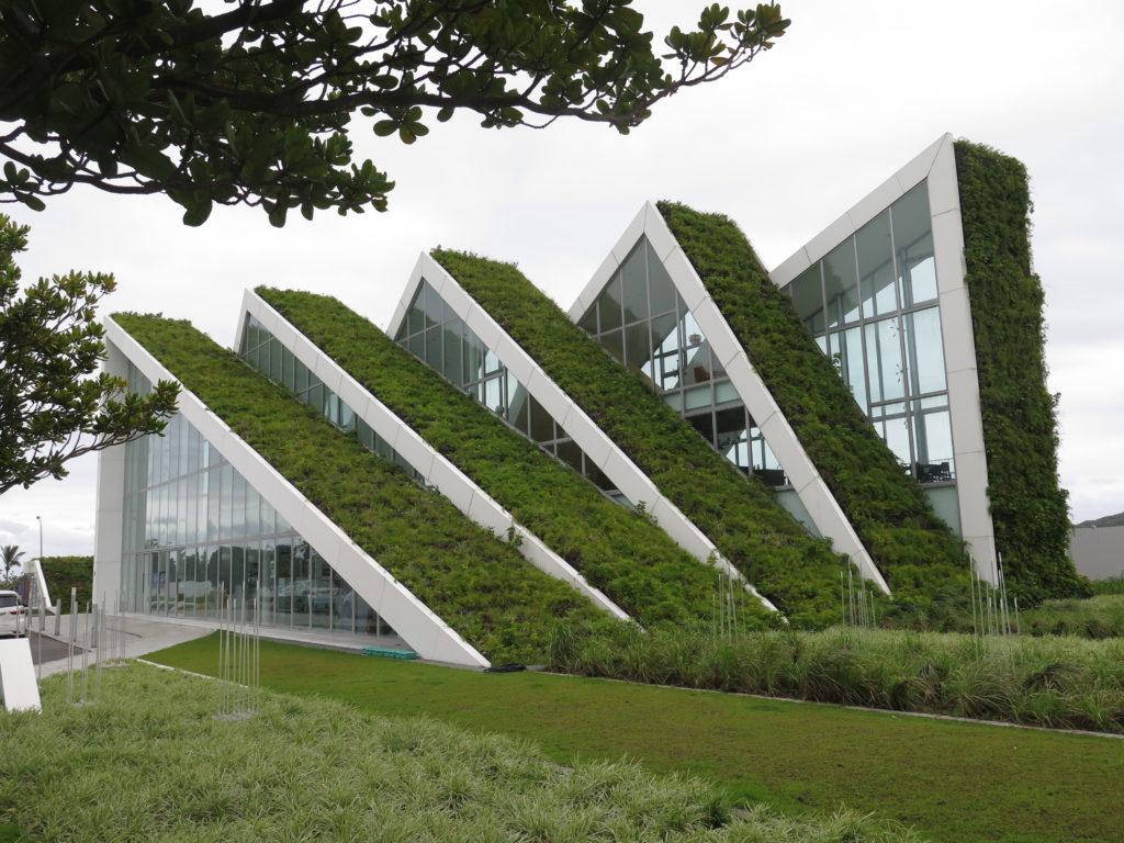 Bjarke Ingels byggeri på Taiwans østkyst