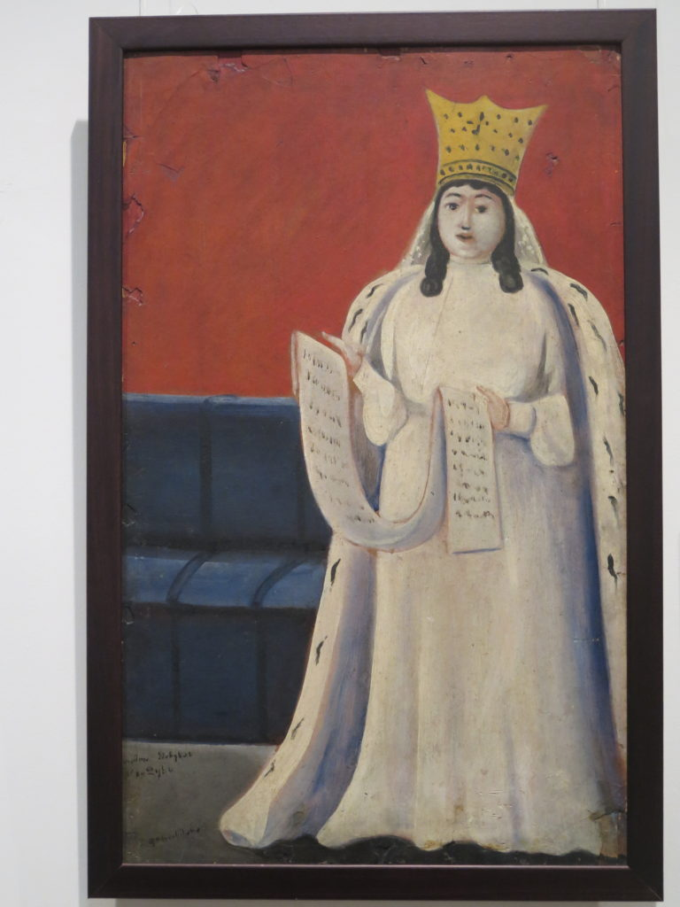 "Woman with a Queen Tamar ""Dronning Tamar"" af Pirosmani"