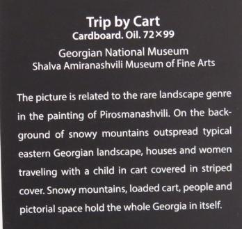 Beskrivelse af billedet Trip by Cart fra Signagi Museet