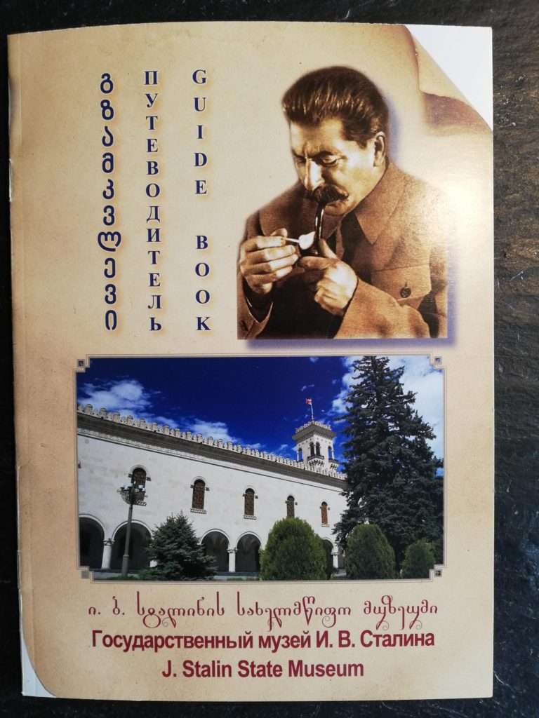 Guidebog Stalin Museum i Gori, Georgien
