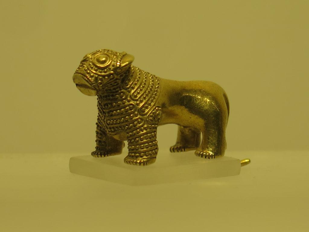 Løvefigur fra 3. århundrede før vores tidsregning på nationalmuseet i Tbilisi