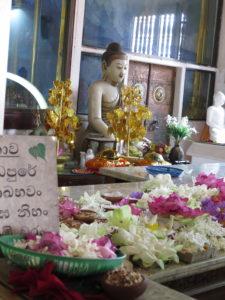 Offergaver til Buddha