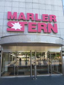 Indgang til Indkøbscentret Marler Stern