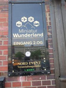 Miniatur Wunderland - indgang
