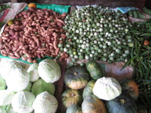 Vegetables from Vegetable stalls