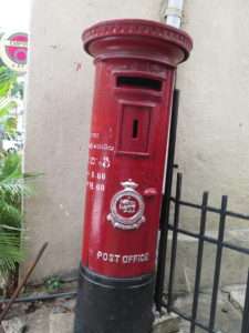 Mailbox in Kandy