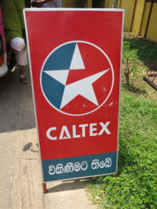 Caltex gasoline