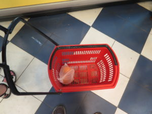 Shopping cart in Sri Lanka - could be in Denmark