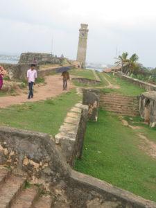 Fæstning i Galle. Sri Lanka - Langs sydkysten