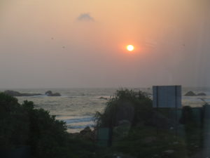 Sunset in Hikkaduwa