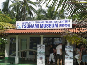 The Tsunami Museum in Telwatta