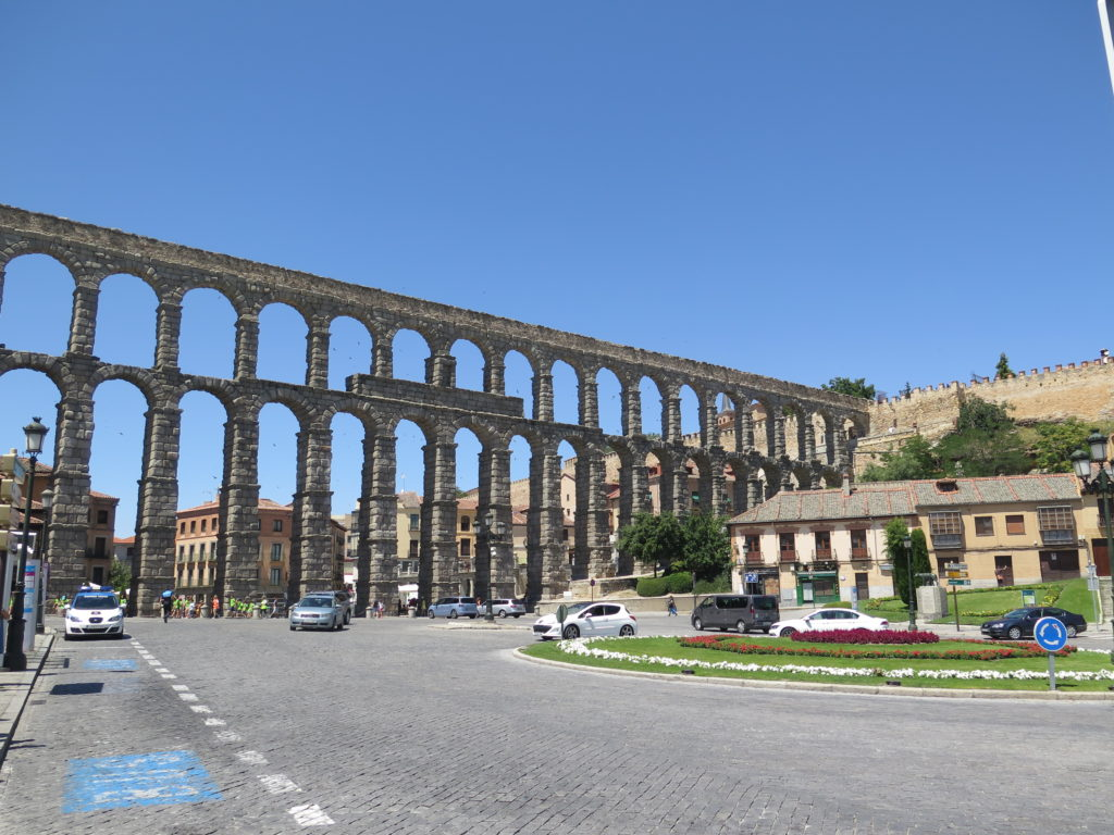 Romersk akvædukt i Segovia