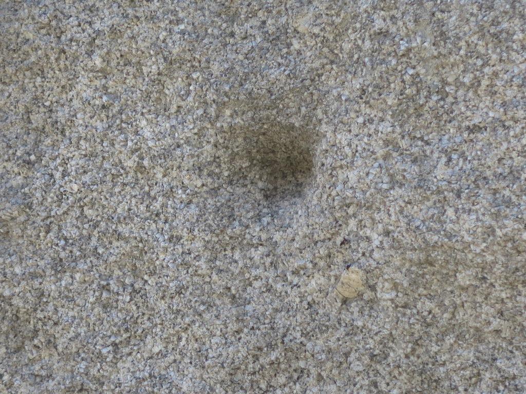 Huller i stenene så en slags knibtang kunne få fat