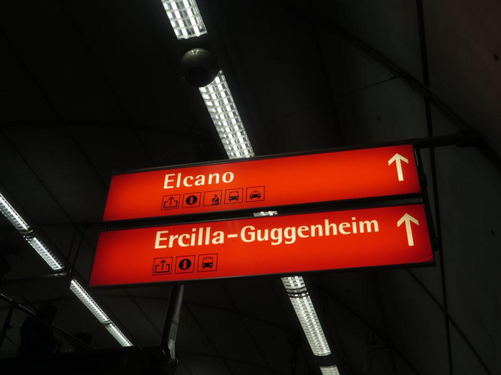 Metroen i Bilbao