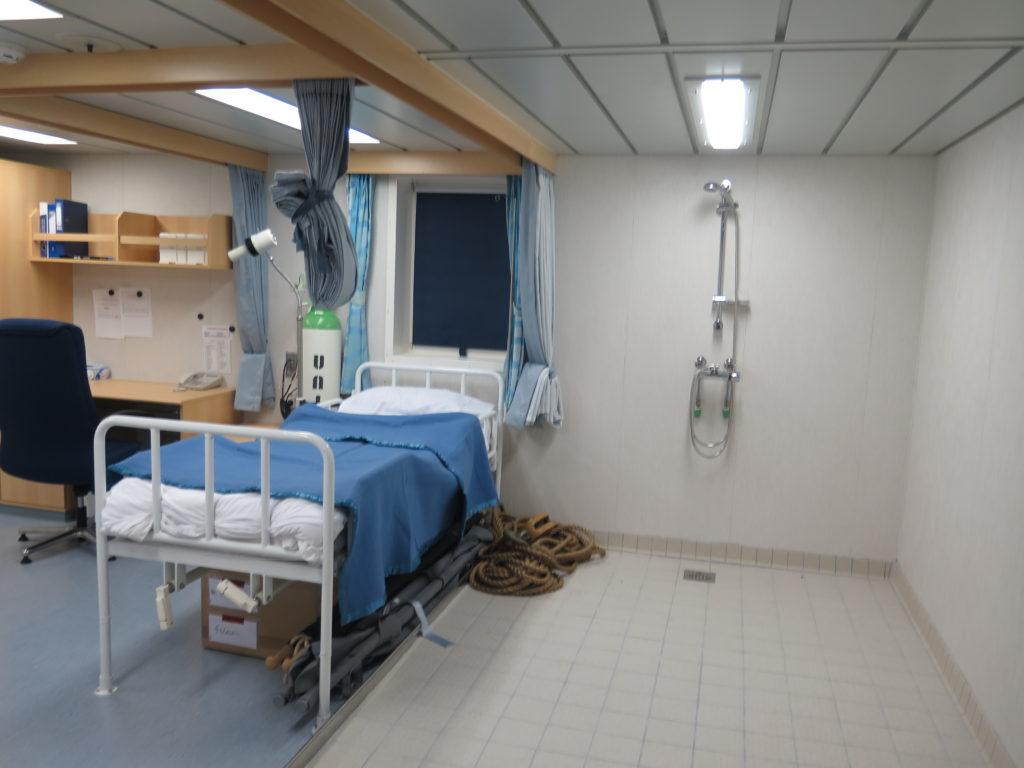 Hospital på skibet