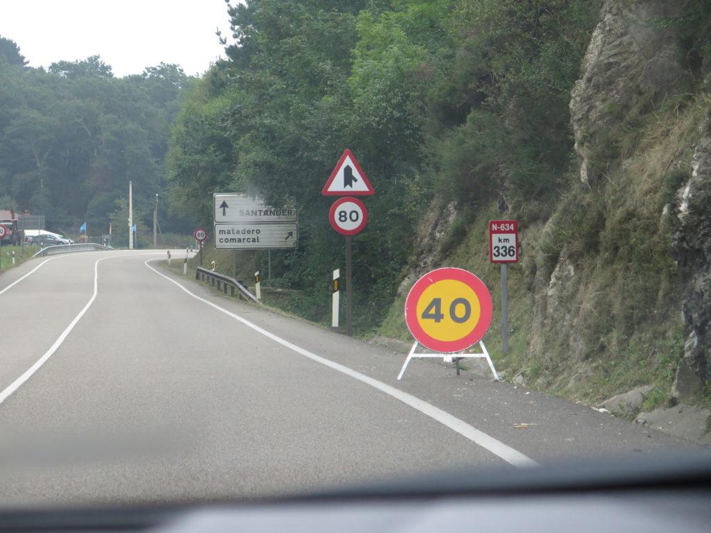 Bare hæv farten til 80 km/t