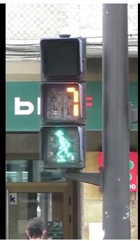 Trafiksikkerhed i Spanien ved fodgængerovergange