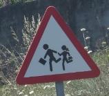 Trafiksikkerhed i Spanien ved skole