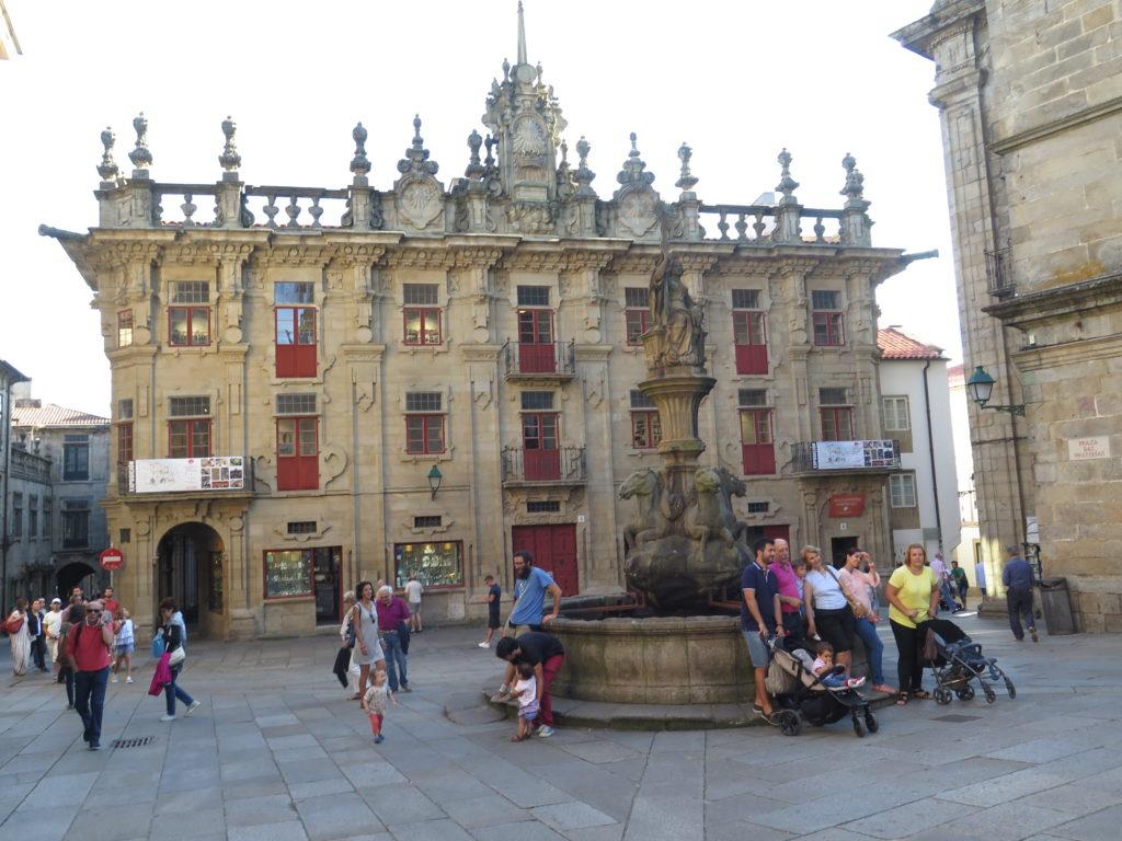 Catedral de Santiago. Camino'en og Santiago de Compostela