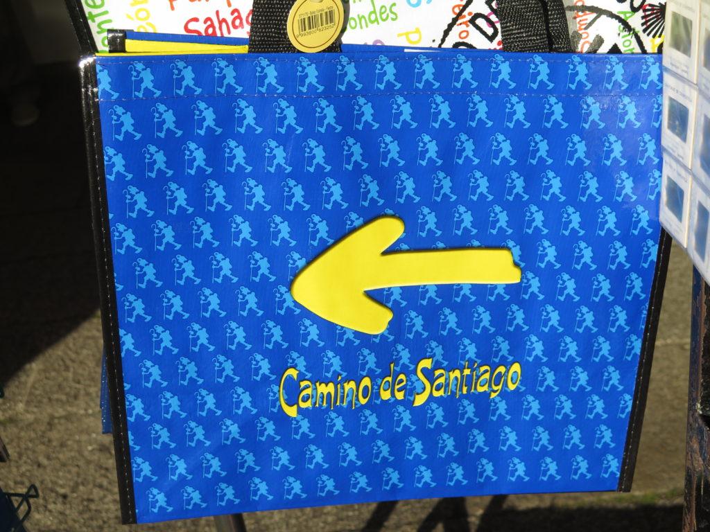 Tæt ved endepunkt for Caminoen og Santiago de Compostela