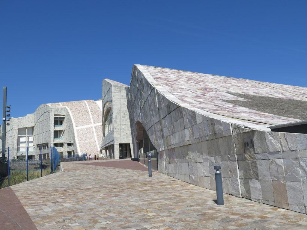 Monte Gaias bydelen i Santiago de Compostela