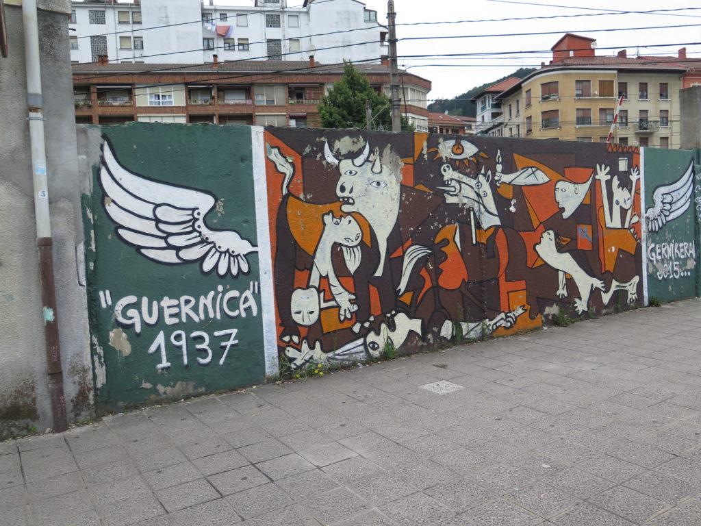 Gernika - Guernica som graffiti