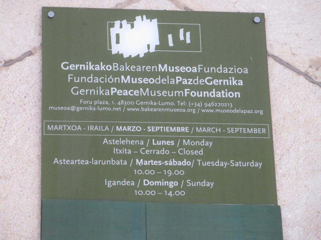Gernika - Guernica Fredsmuseum