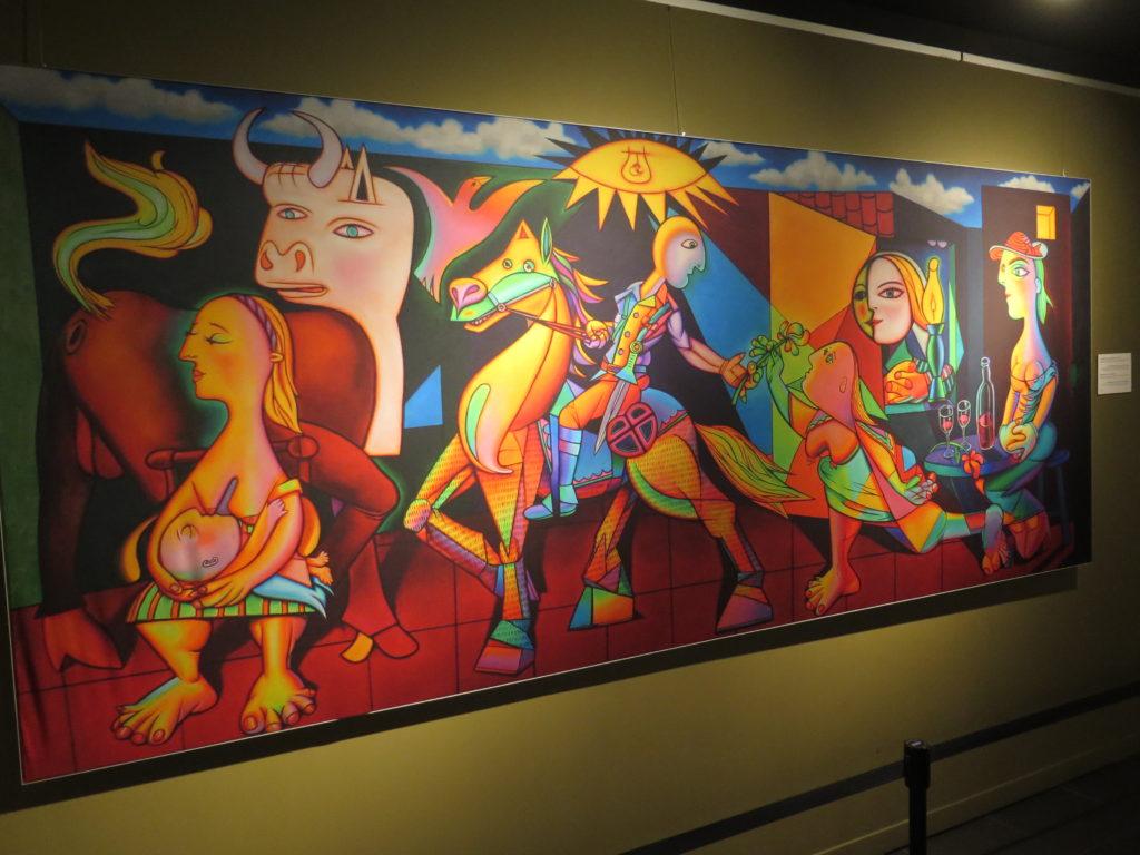 Ron English på Fredsmuseet i Gernika