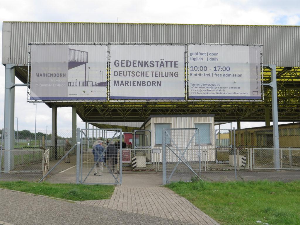 Marienborn - Grænseovergang til DDR. Gedenkstätte Deutsche Teilung Marienborn