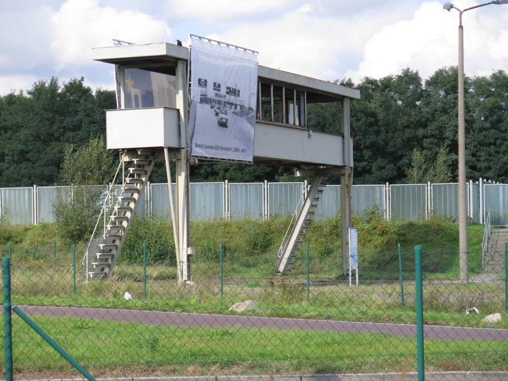 Vagttårn ved Marienborn grænseovergang