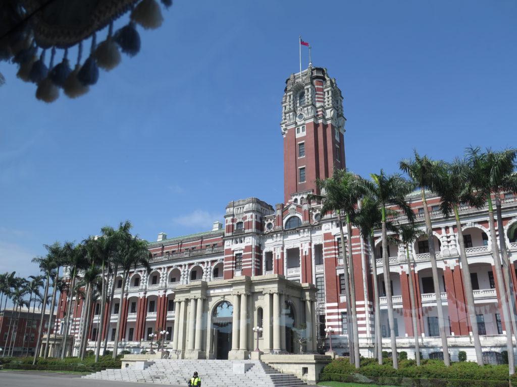 Præsidentpaladset i Taiwans hovedstad Taipei