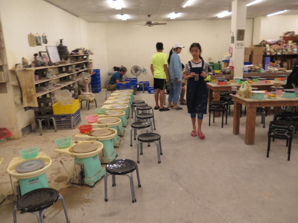 Selv lave keramik i Yingge