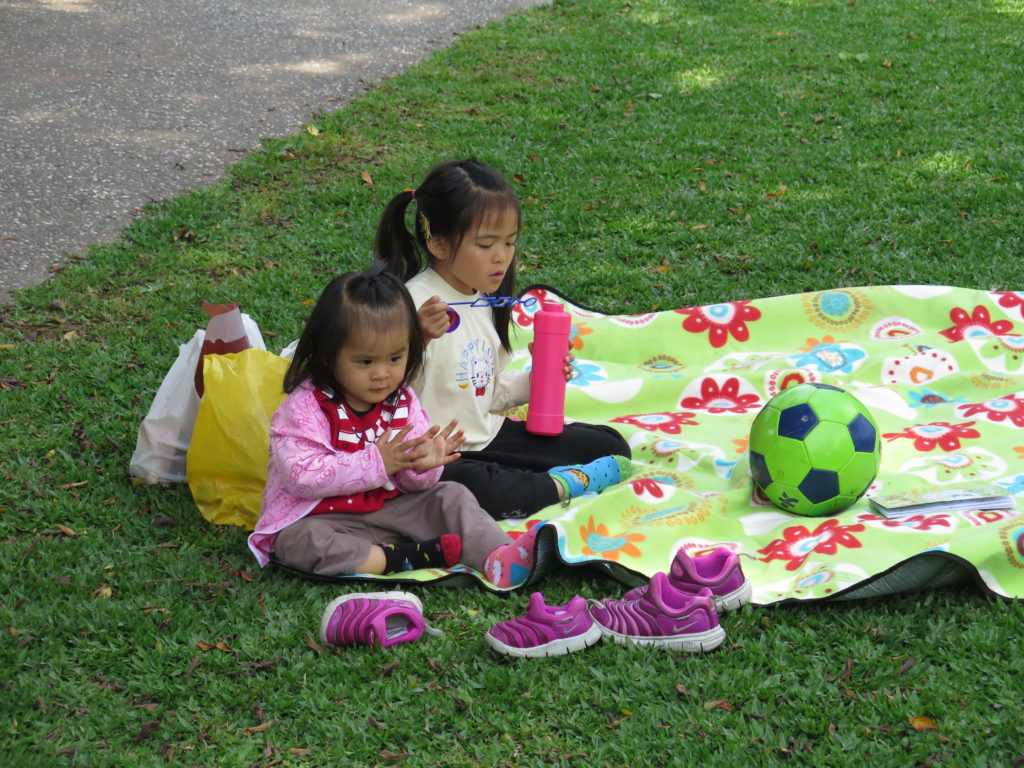 Børn i parken