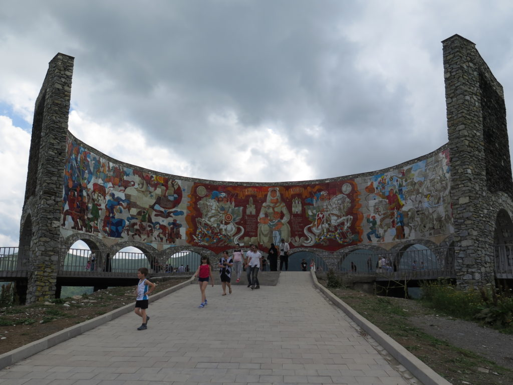 Russia-Georgia Friendship Monument