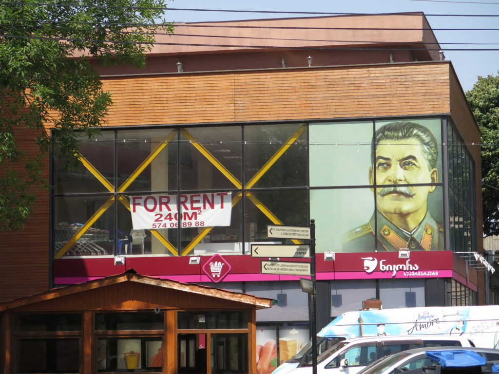 Stalin-butik til leje i Gori, Georgien