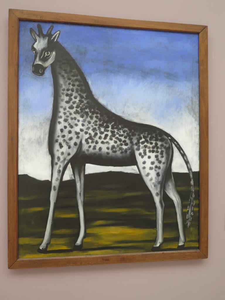 Giraffe af Pirosmani