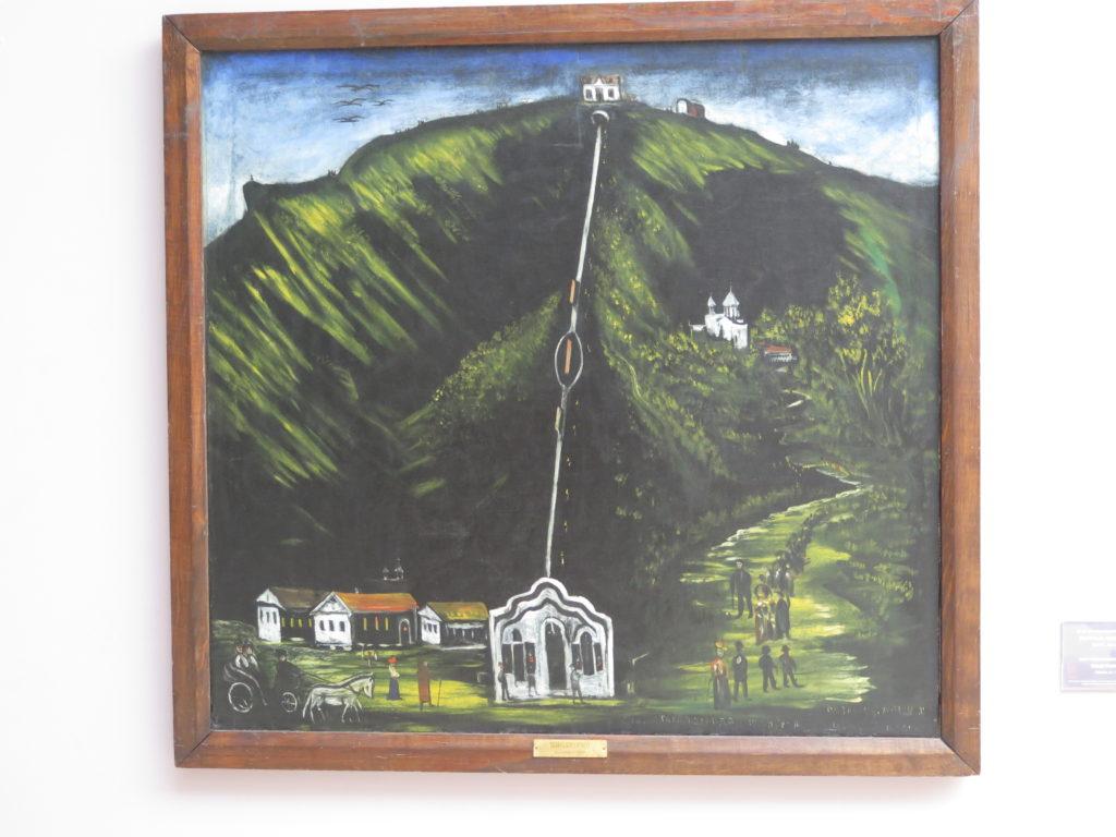 Tbilisi Funicular af Pirosmani
