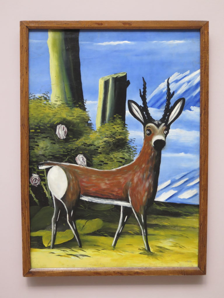 Deer af Pirosmani