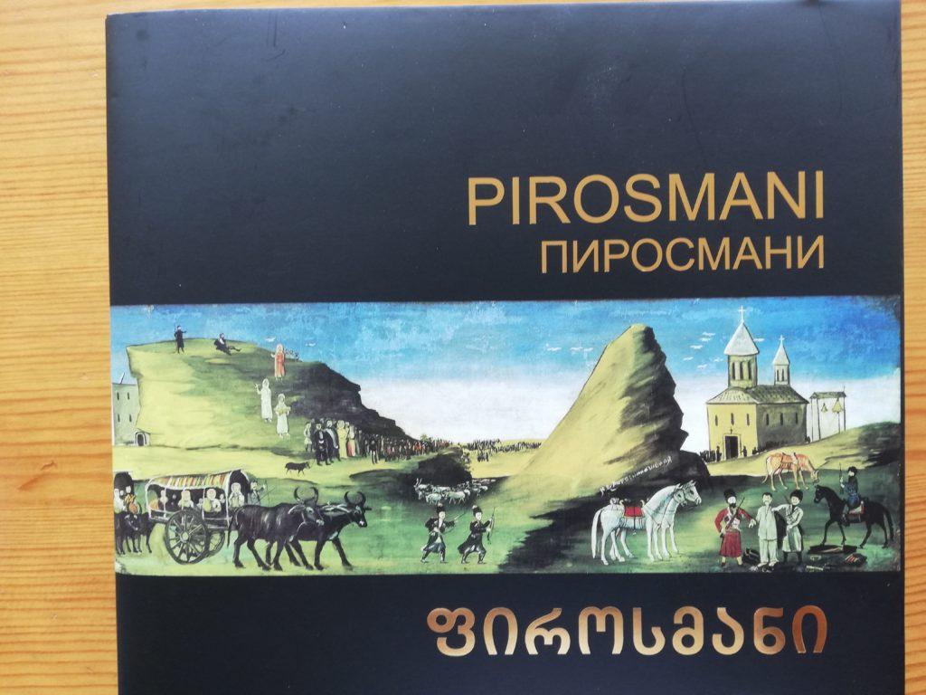 Bog om Nino Pirosmani. Gat Group.