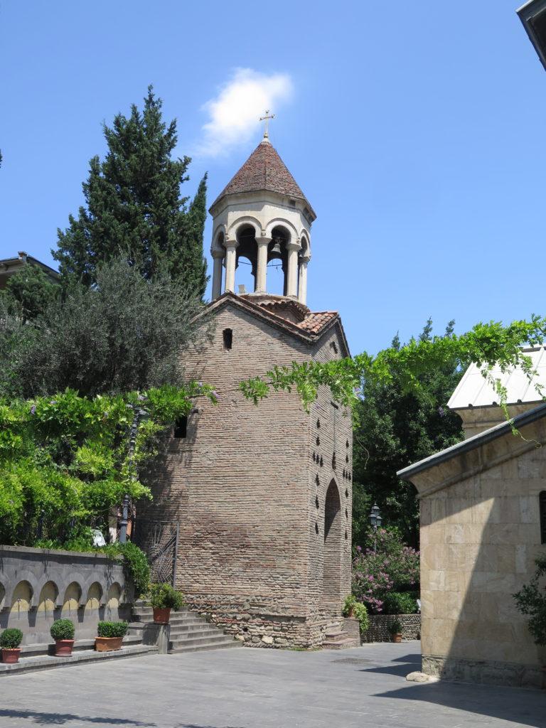 Sioni-katedralen har et særskilt klokketårn