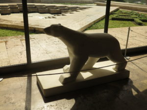 Isbjørn fra Yerevan Cascade
