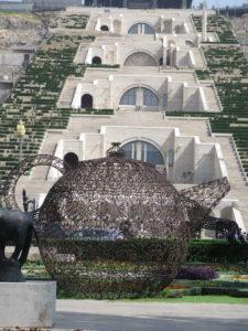 Armeniens hængende haver i Yerevan