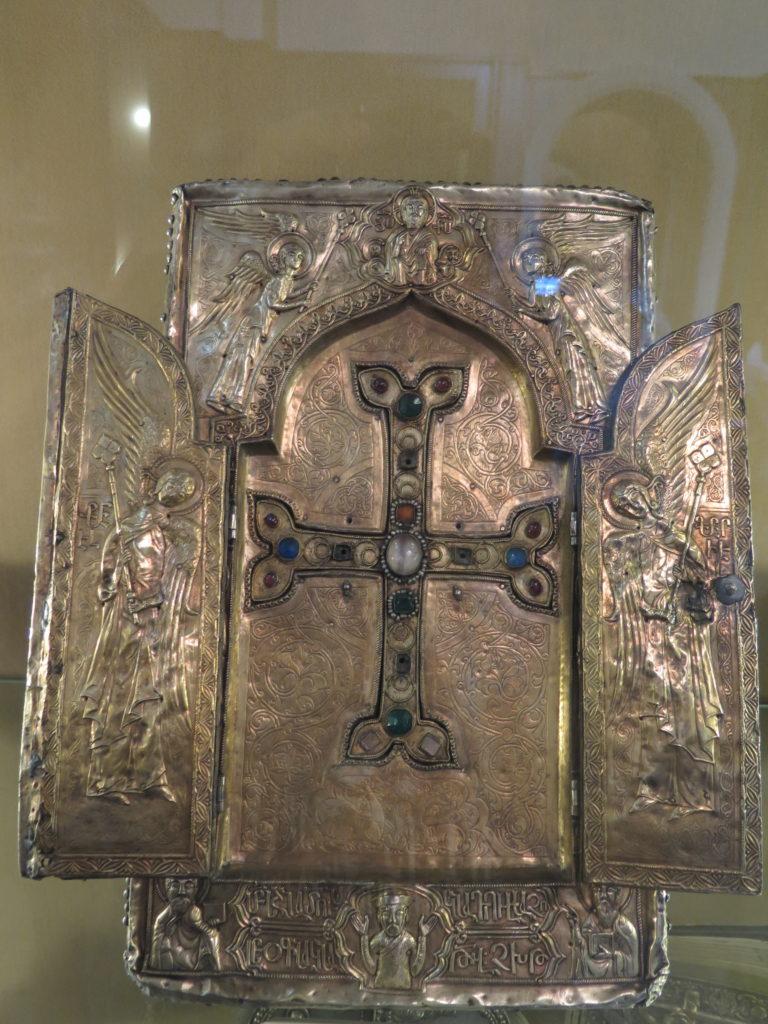 Træsplint fra Jesu kors i Etchmiadzin-katedralen, Armenien