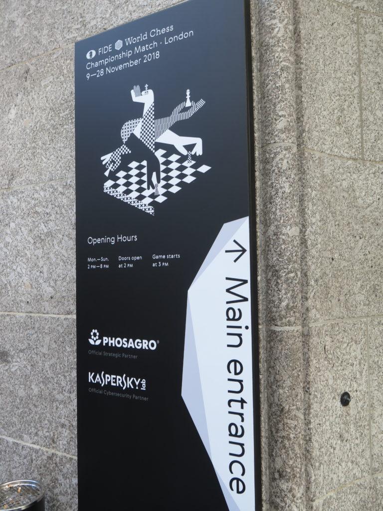 VM i skak 2018 i London