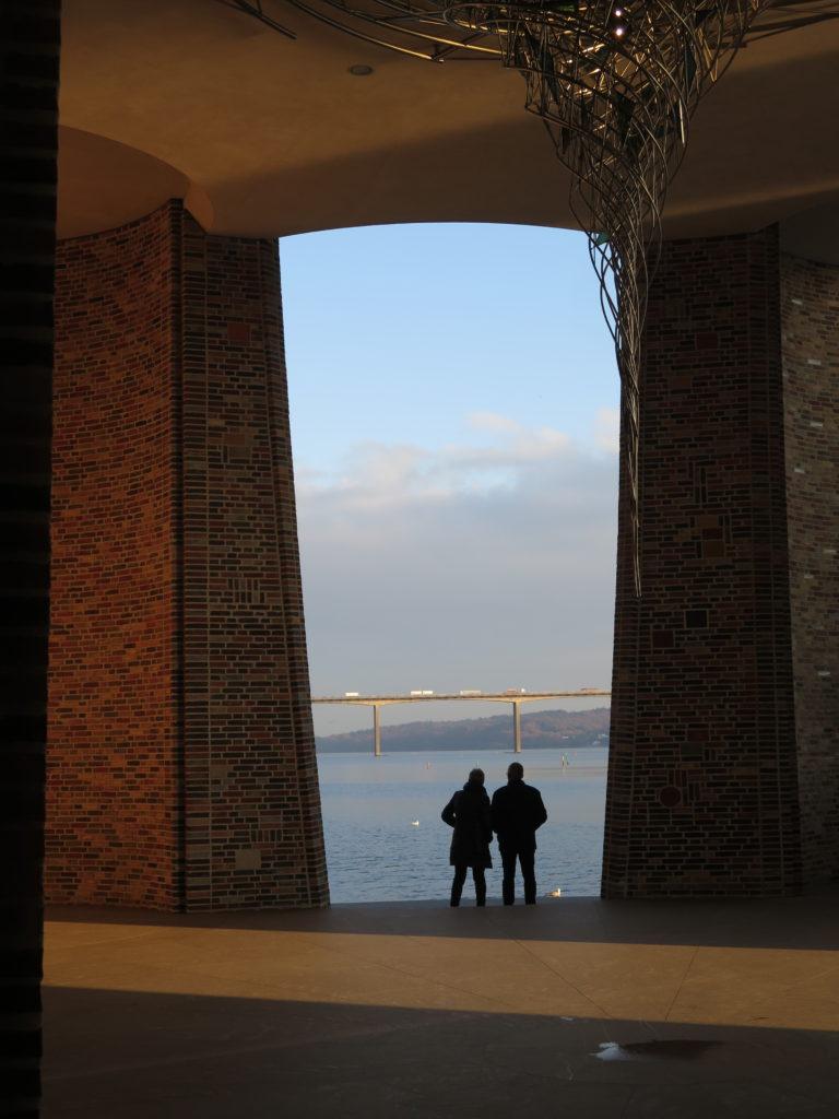 Udsigt mod Vejle Fjord-broen